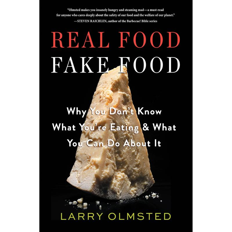 Book Cover - Real Food Fake Food