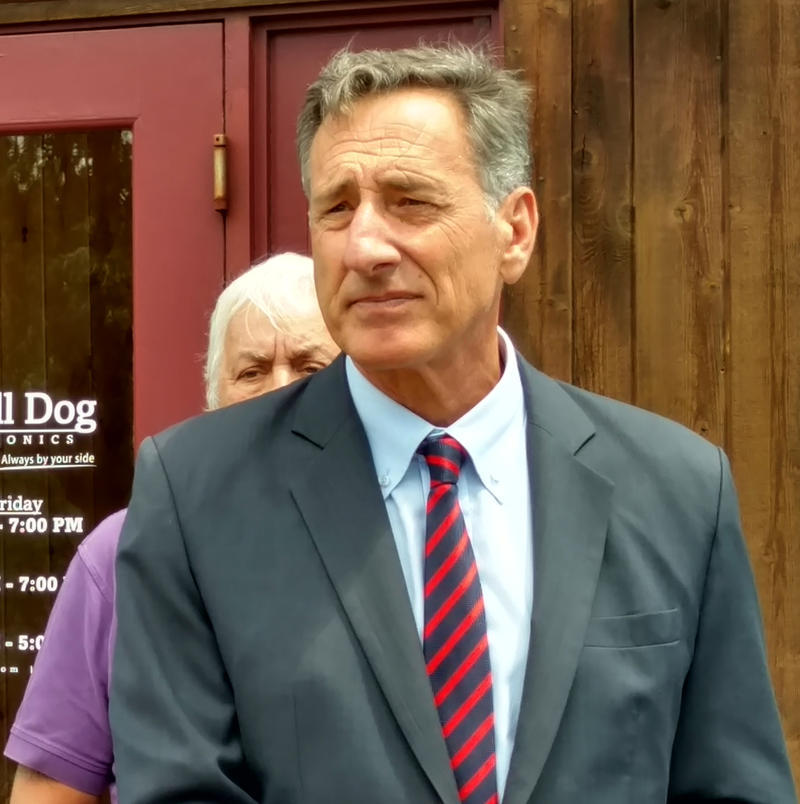 Vermont Governor Peter Shumlin in South Burlington July 19, 2016