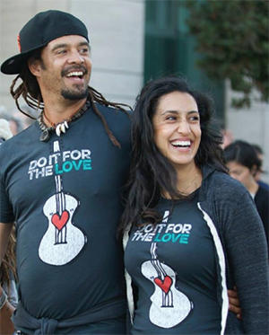 Michael and Sara Agah Franti
