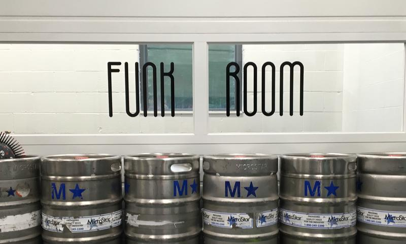 funk room at Big Slide Brewery and Public House