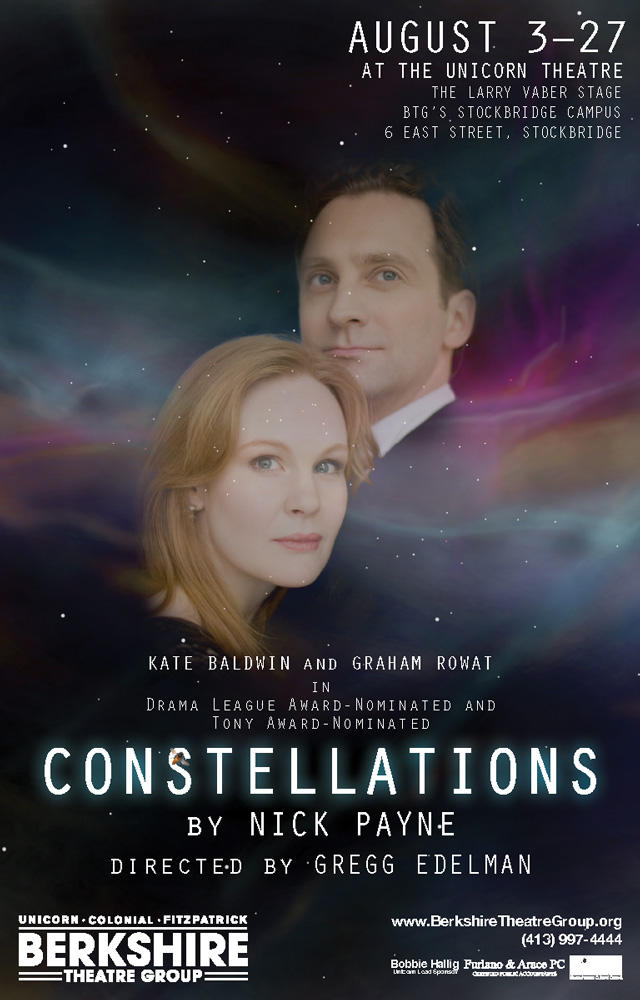 Poster for Constellations at BTG
