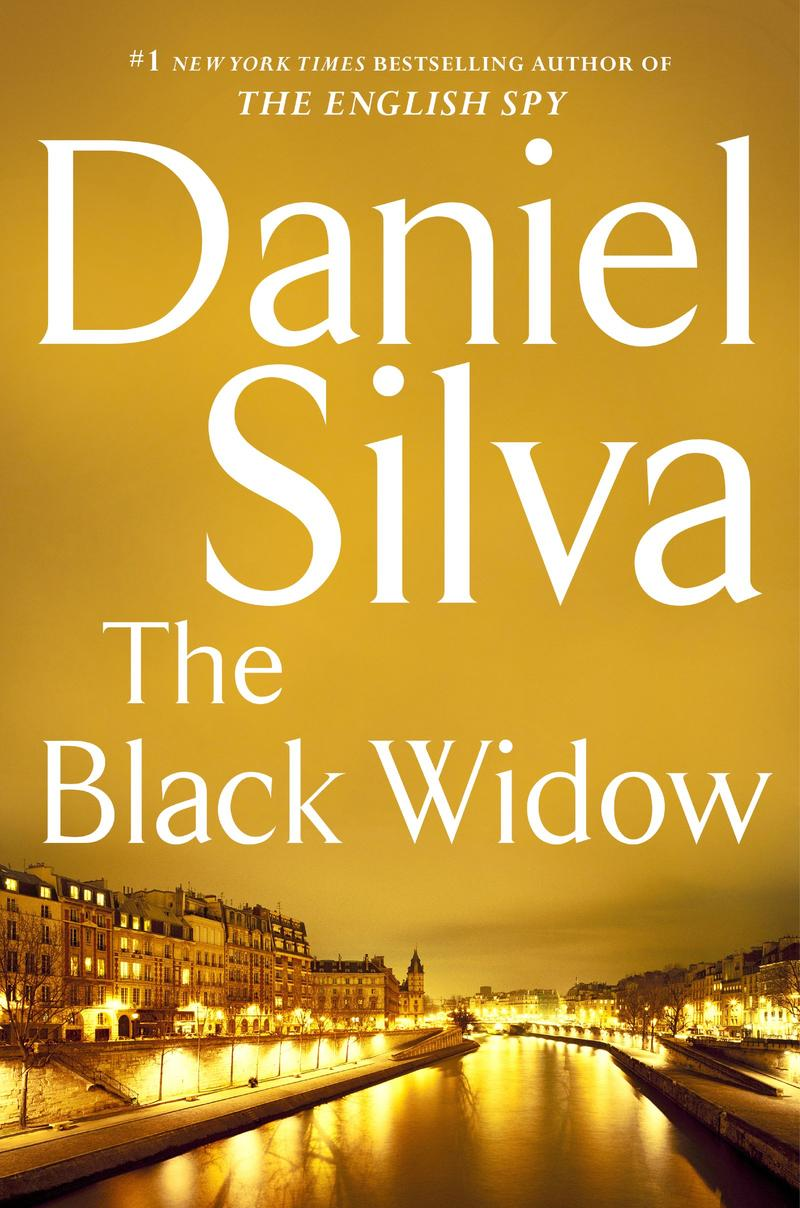 Book Cover - The Black Widow