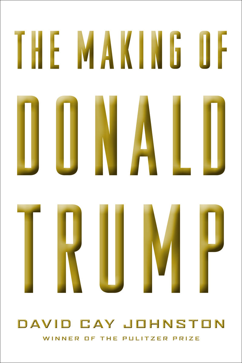 Book Cover - The Making of Donald Trump