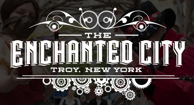 Enchanted City Troy logo