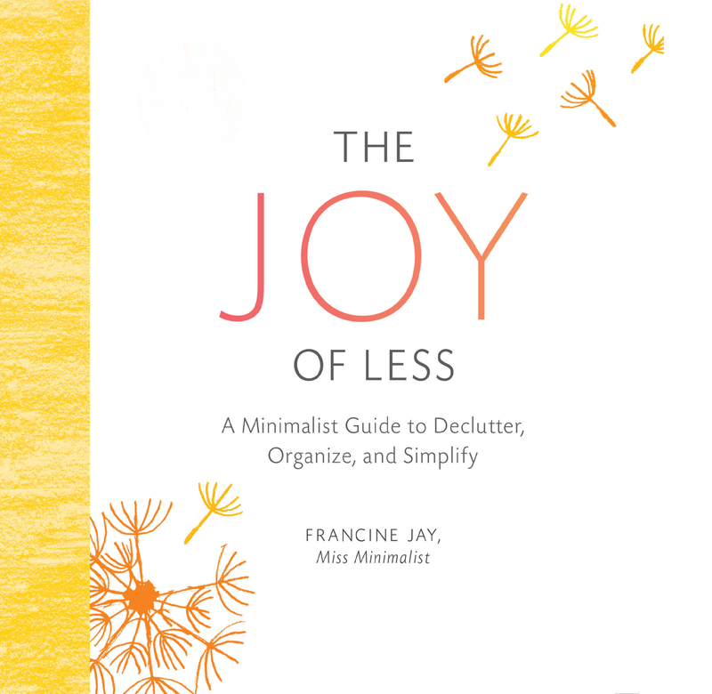 Book Cover - The Joy of Less