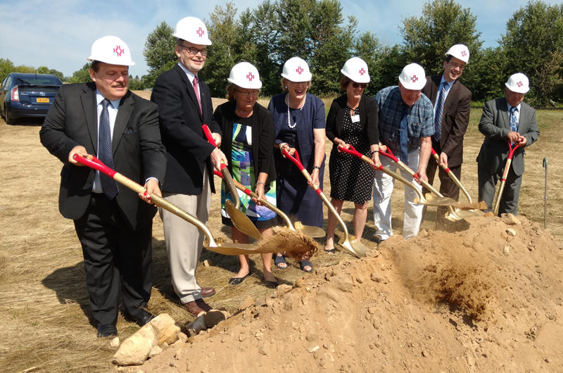 Hudson Headwaters Health Network Champlain groundbreaking