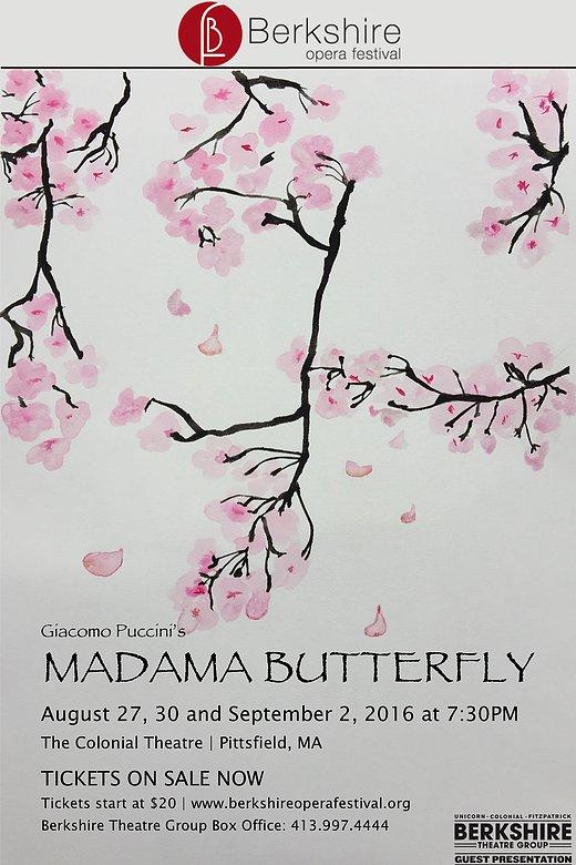 Poster for Madama Butterfly