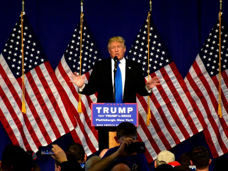 Donald Trump campaigns in Plattsburgh April 2016