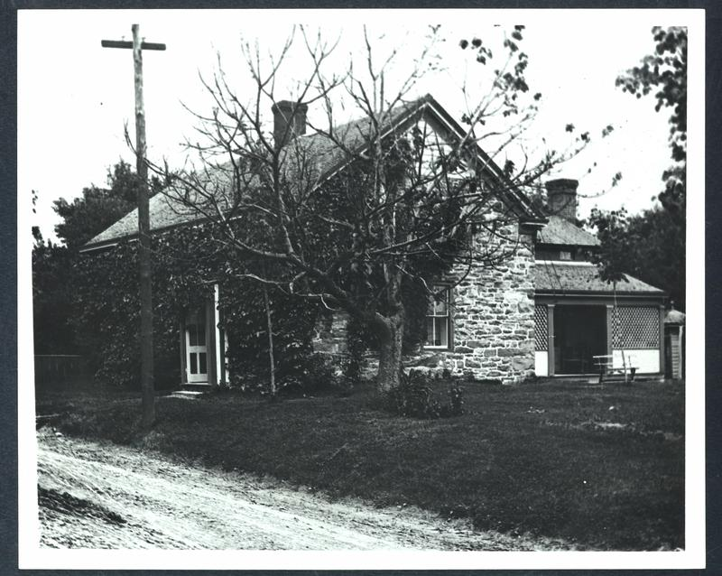 The original stone Deyo House, prior to renovation