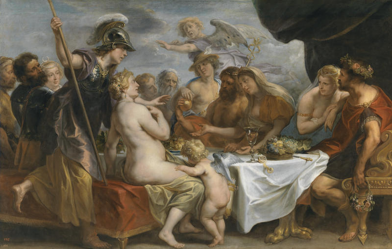 Jacob Jordaens (Flemish, 1593–1678), Marriage of Peleus and Thetis, 1636–38. Oil on canvas, 71 1/4 x 113 3/8 in.
