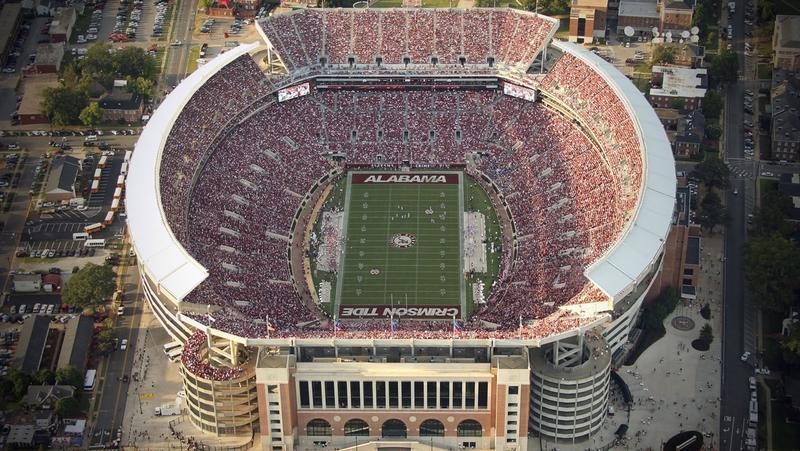 Alabama Crimson Tide football stadium