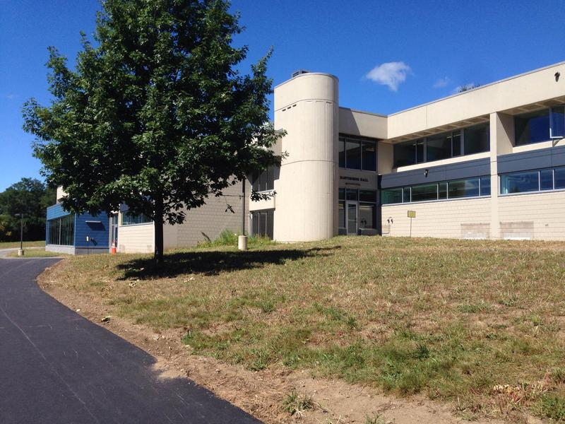 The renovated Hawthorne Hall at Berkshire Community College is open for classes.