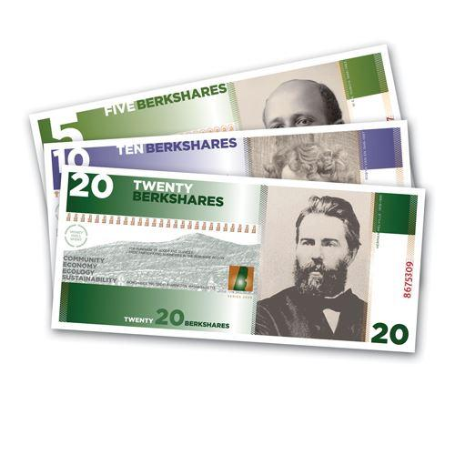 Examples of BerkShares notes