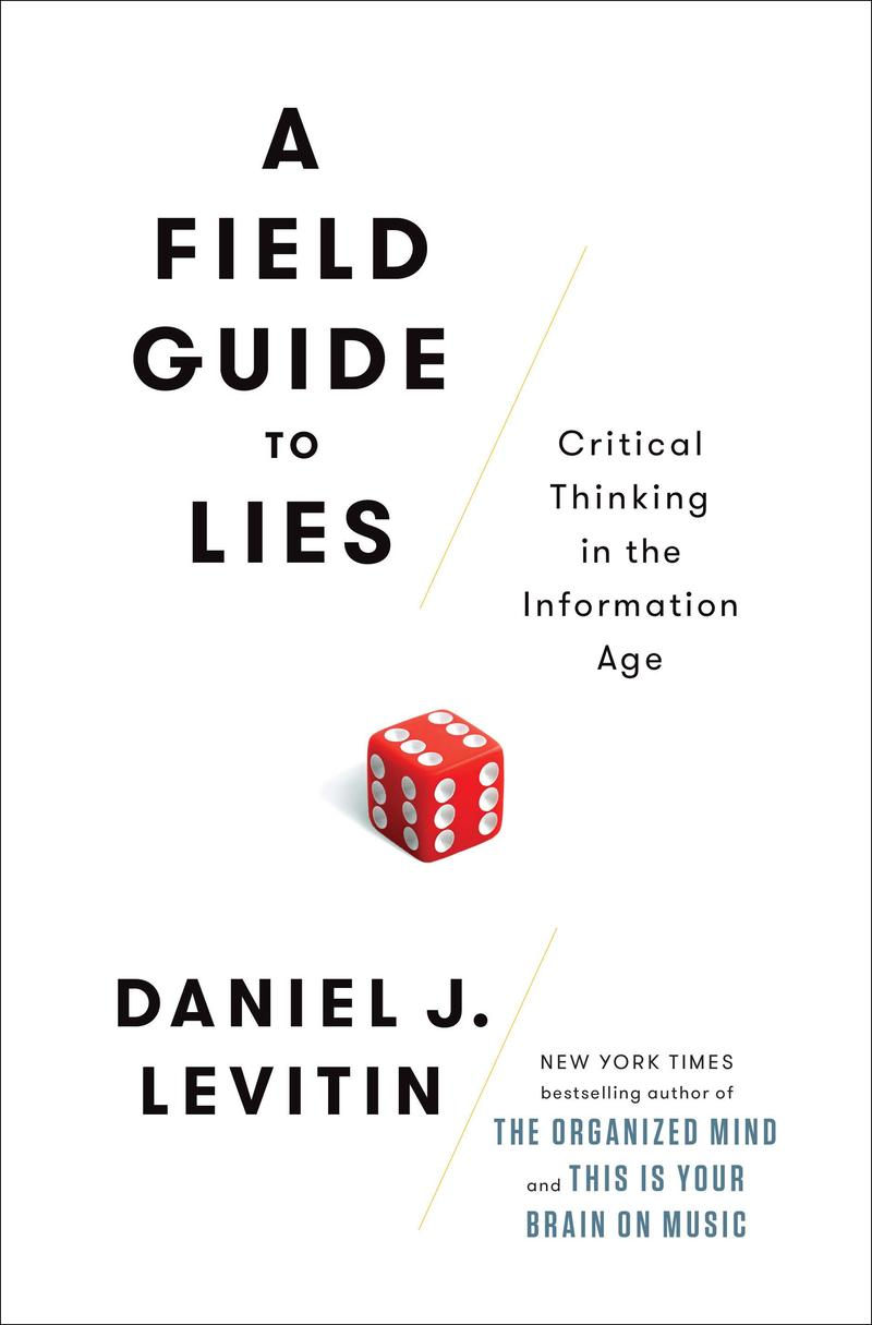 Book Cover - A Field Guide to Lies