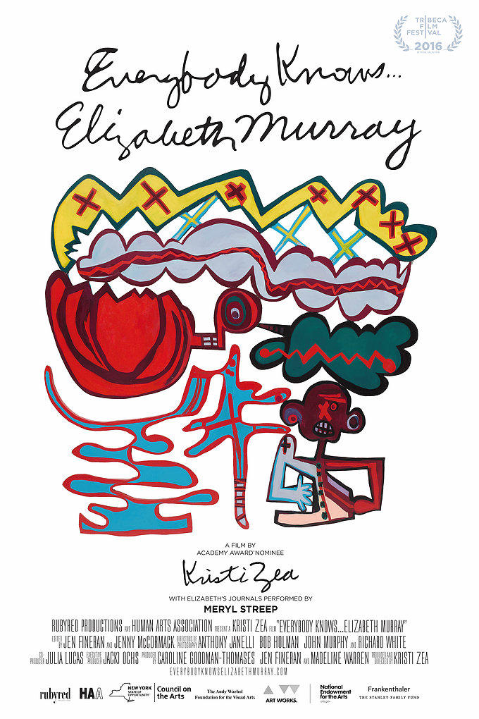 Film poster: Everybody Knows ... Elizabeth Murray