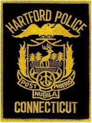 A Hartford Police Department patch
