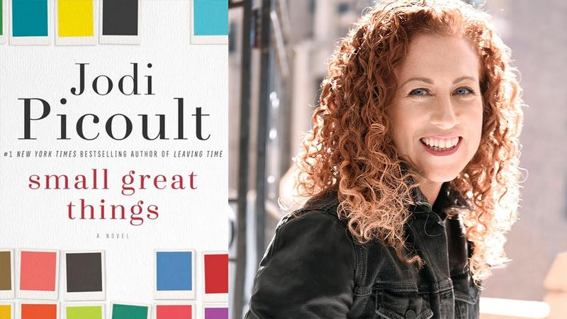 Book Cover and Author photo - Small Great Things by Jodi Picoult