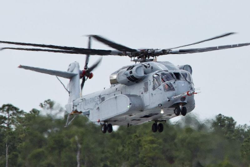 A CH-53K King Stallion helicopter