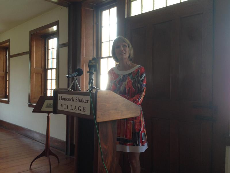 Jennifer Trainer Thompson was announced as the next CEO of Hancock Shaker Village Wednesday.