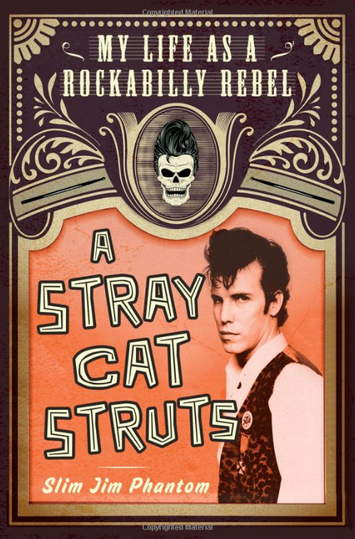 Book Cover - A Stray Cat Struts