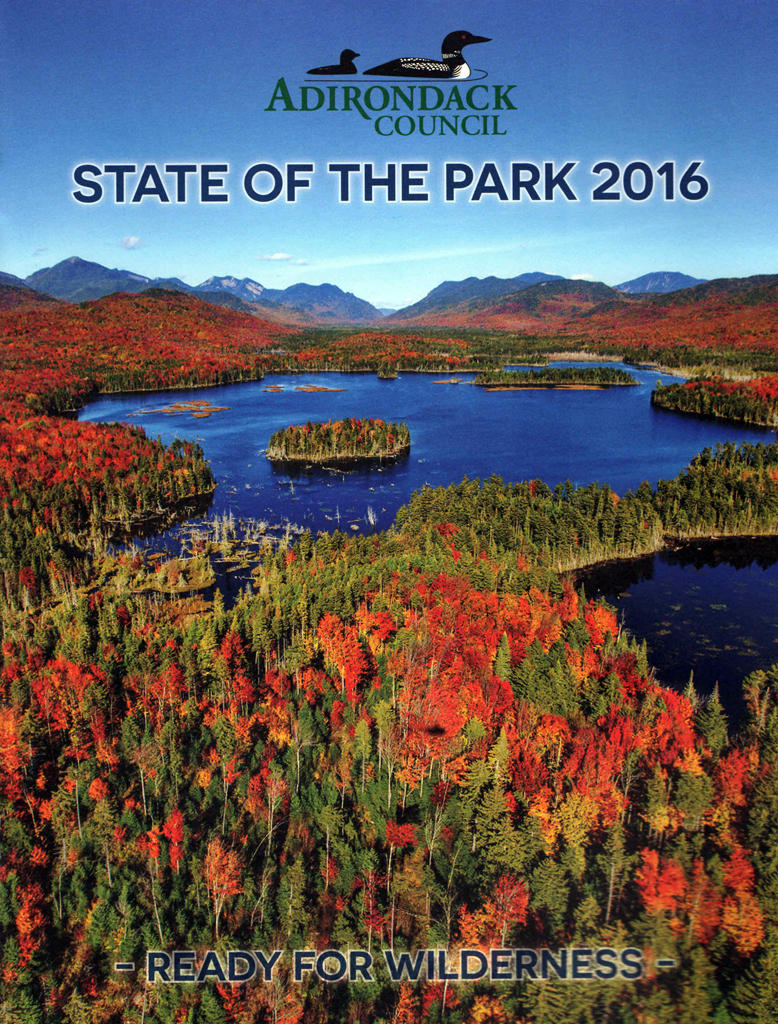 State of the Park 2016 cover