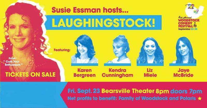 Artwork for Laughingstock at Woodstock Comedy Festival