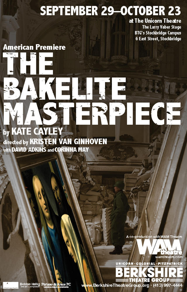 Poster for Bakelite Masterpiece presented by WAM and BTG