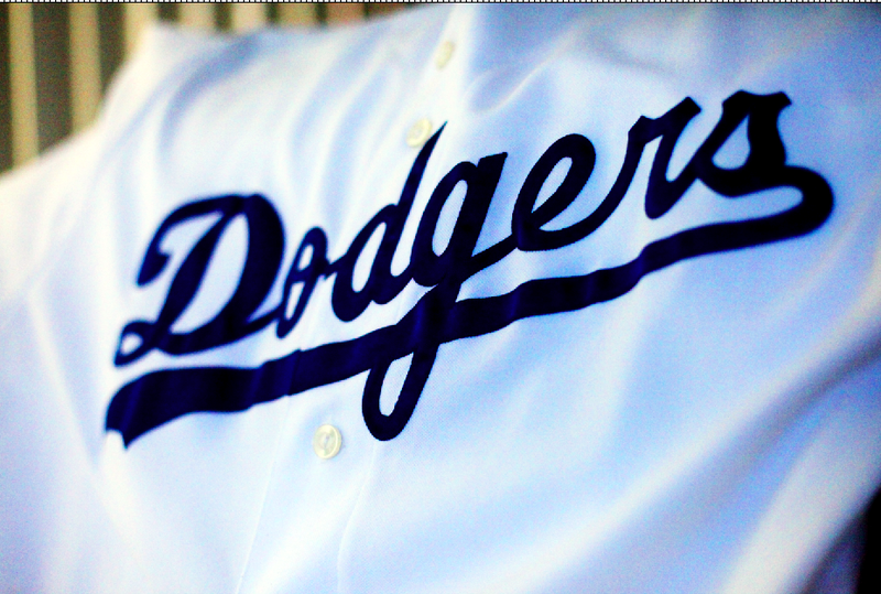 The Los Angeles Dodgers uniform