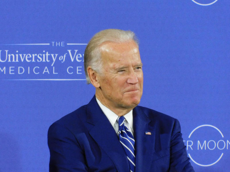 Vice President Joe Biden at the University of Vermont