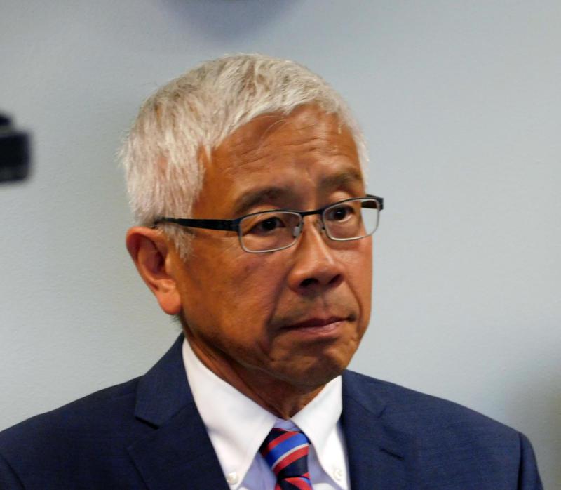 Vermont Health Commissioner Dr. Harry Chen