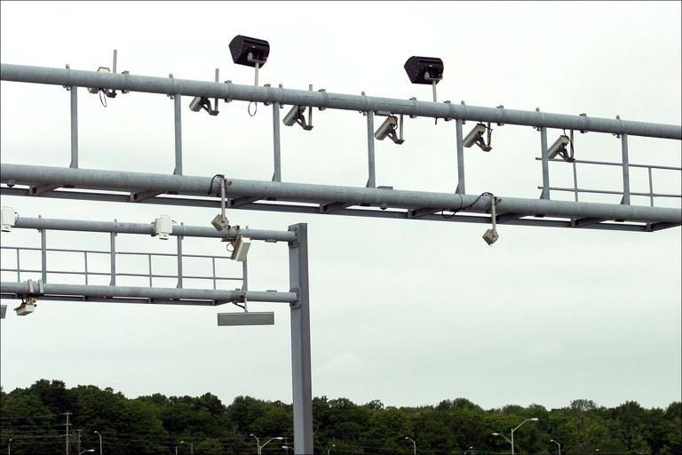 An example of electronic tolling