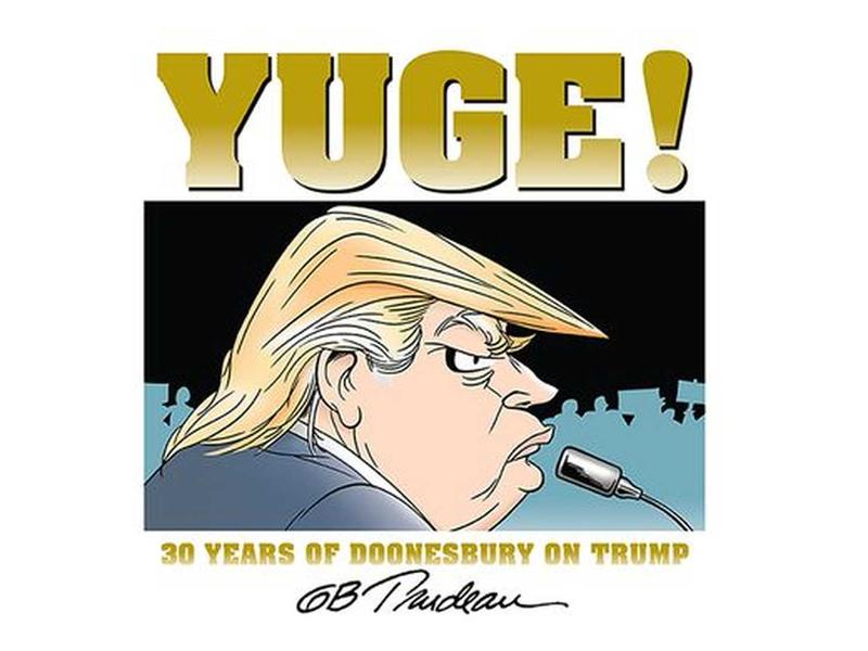 Book Cover - Yuge!