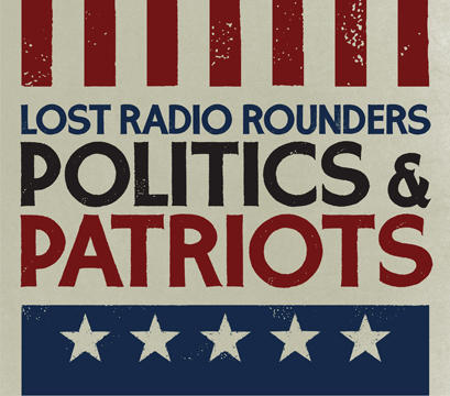 CD Cover Art - Politics & Patriots