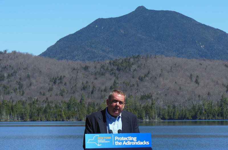 Mike Carr at Elk Lake in the Adirondacks, May 2016