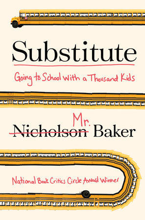 Book Cover - Substitute