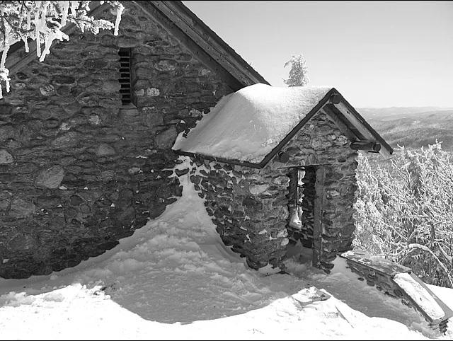 Stone Hut at the top of Mount Mansfield
