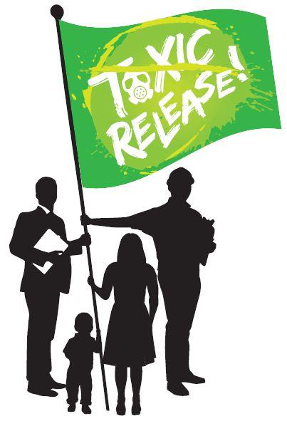 Toxic release artwork for Saranac River Trail