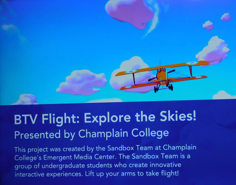 "Champlain College ""Flight"" At Burlington International Airport"
