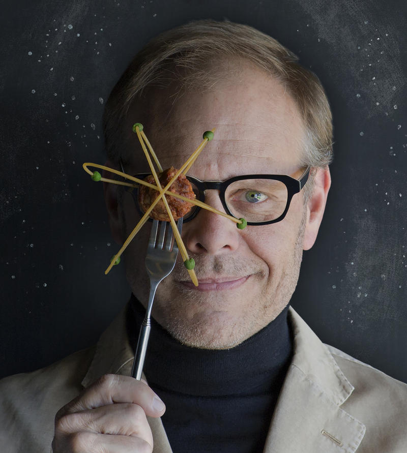 Alton Brown Eat Your Science promo photo
