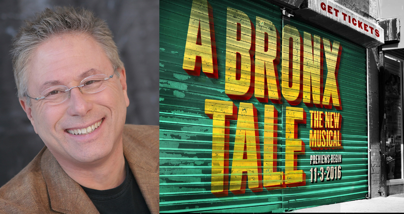 Alan Menken and A Bronx Tale musical artwork