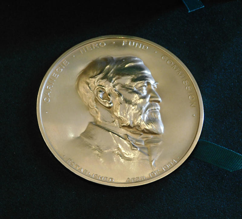 Carnegie Medal awarded to Scott Williams