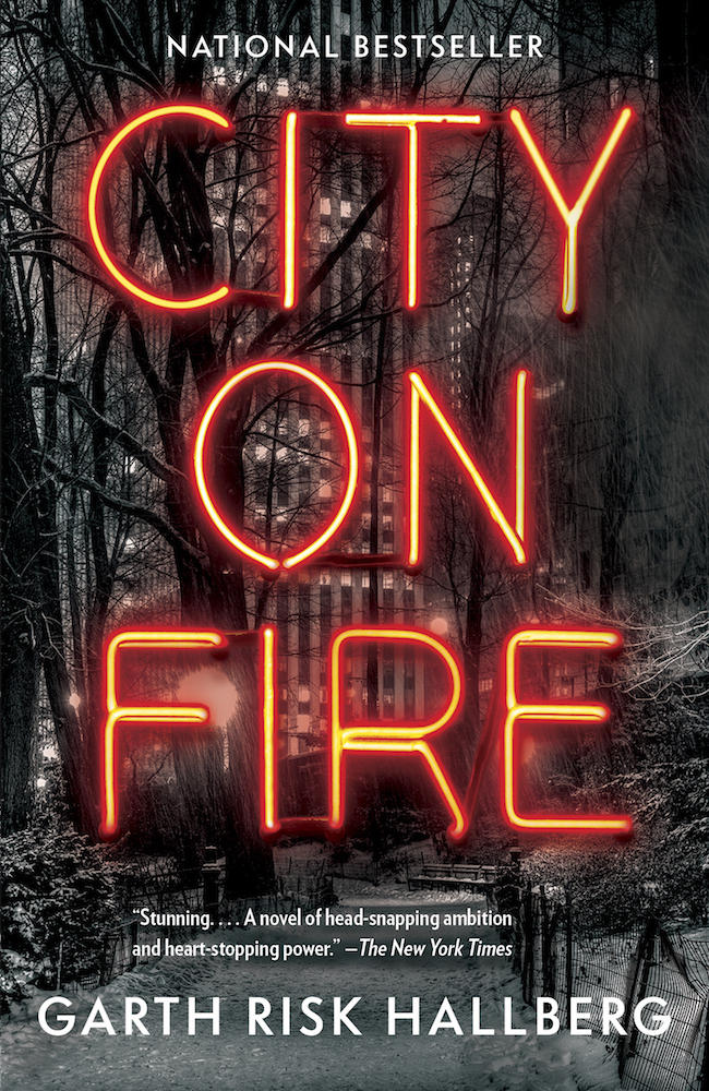 Book Cover - City on Fire