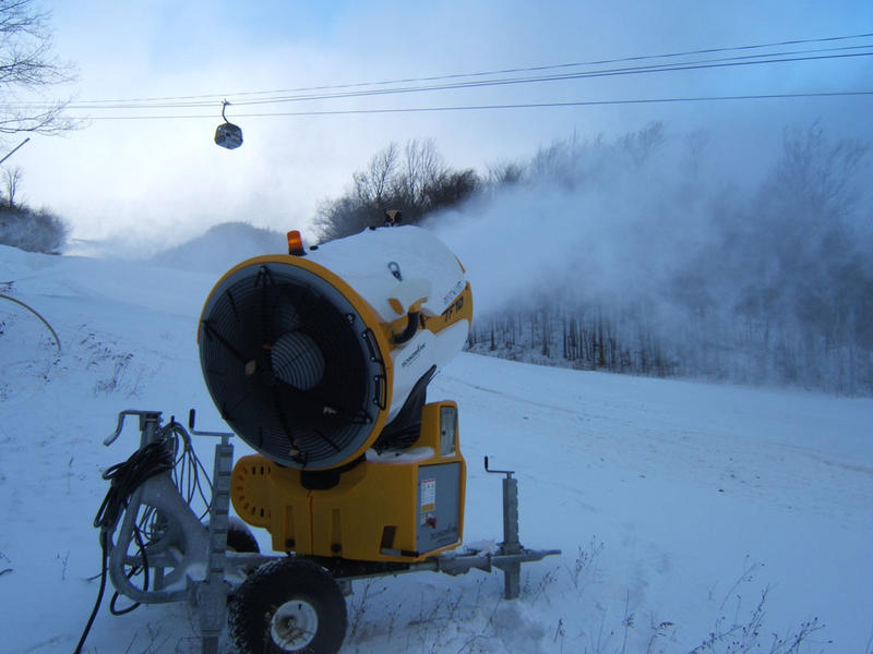 Snowgun at Whiteface Mountain