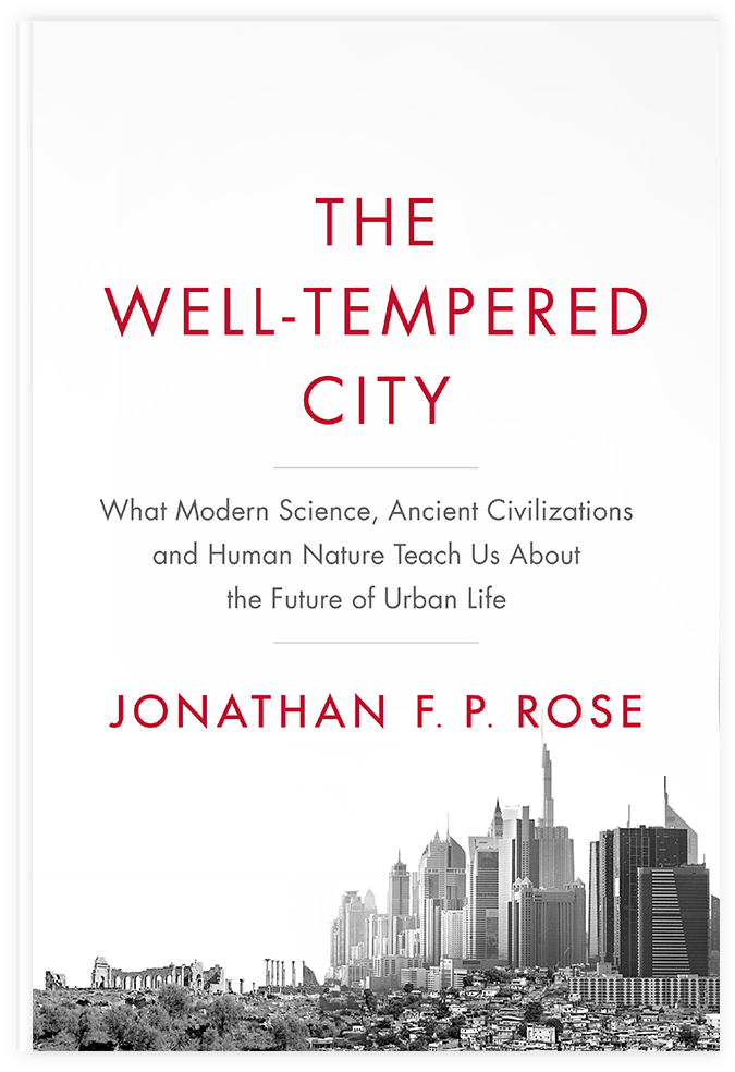 Book Cover - The Well-Tempered City