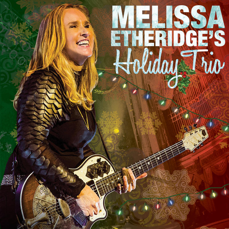Melissa Etheridge Holiday Trio artwork