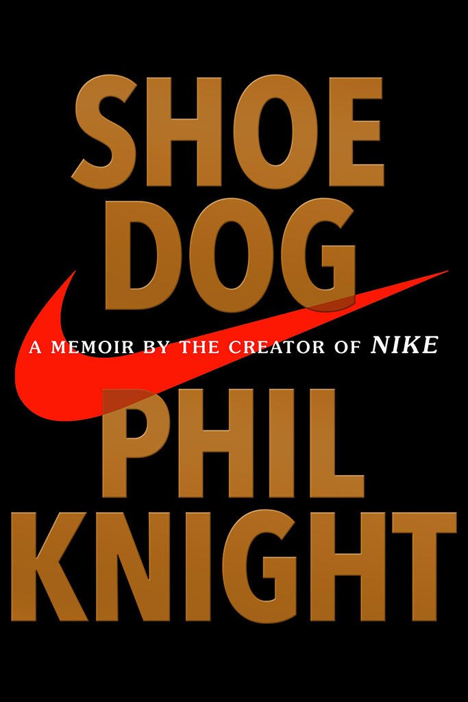 Book Cover - Shoe Dog