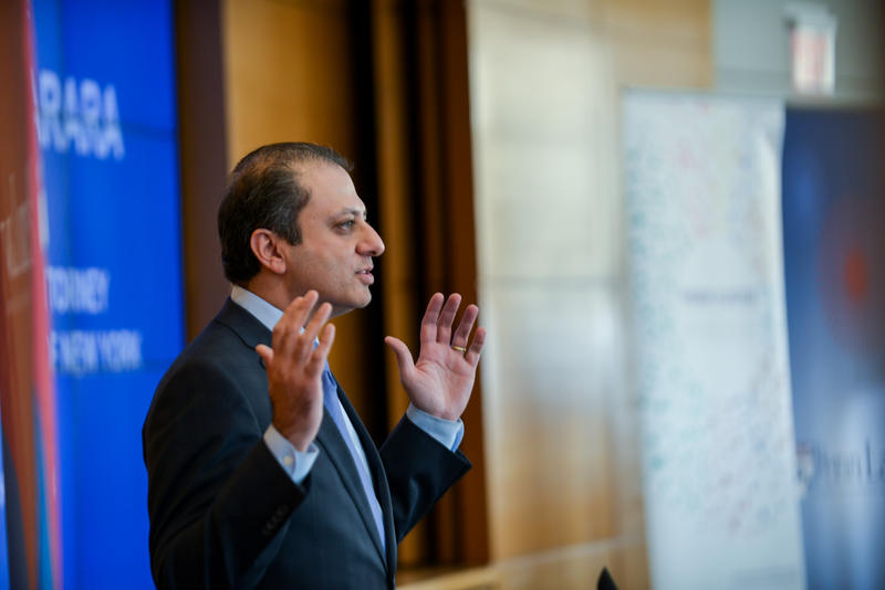 U.S. Attorney for the Southern District Preet Bharara.