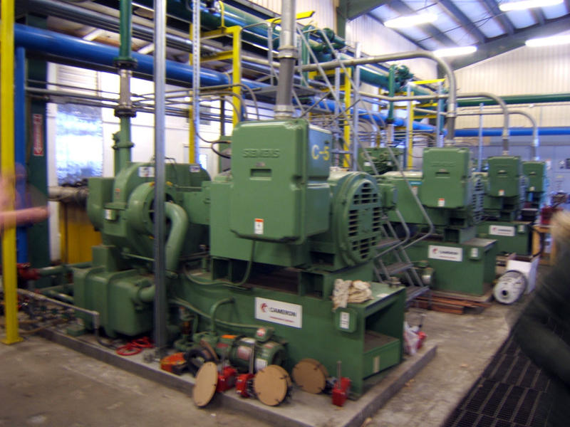 Pumphouse compressors