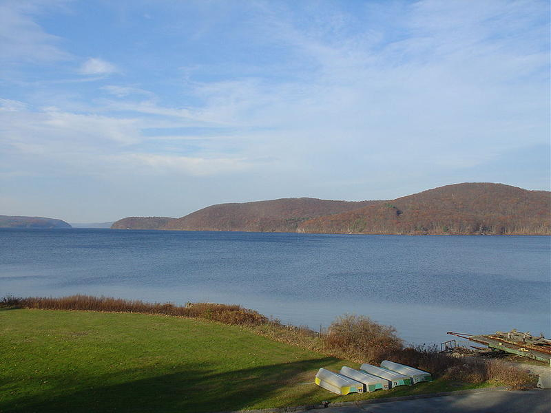 The Quabbin Reservoir in central Massachusetts