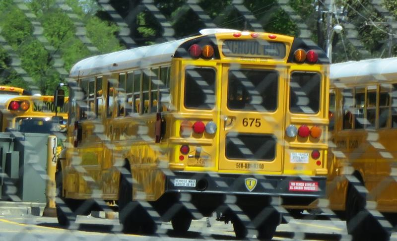 School Bus at Shenedehowa